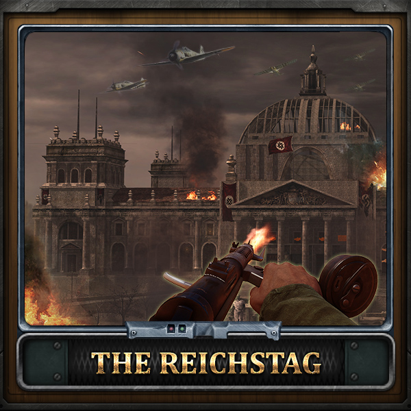 Get together and storm the headquarters of Nazi Germany!