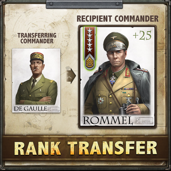 Bring your newest Commanders to full potential, right away!